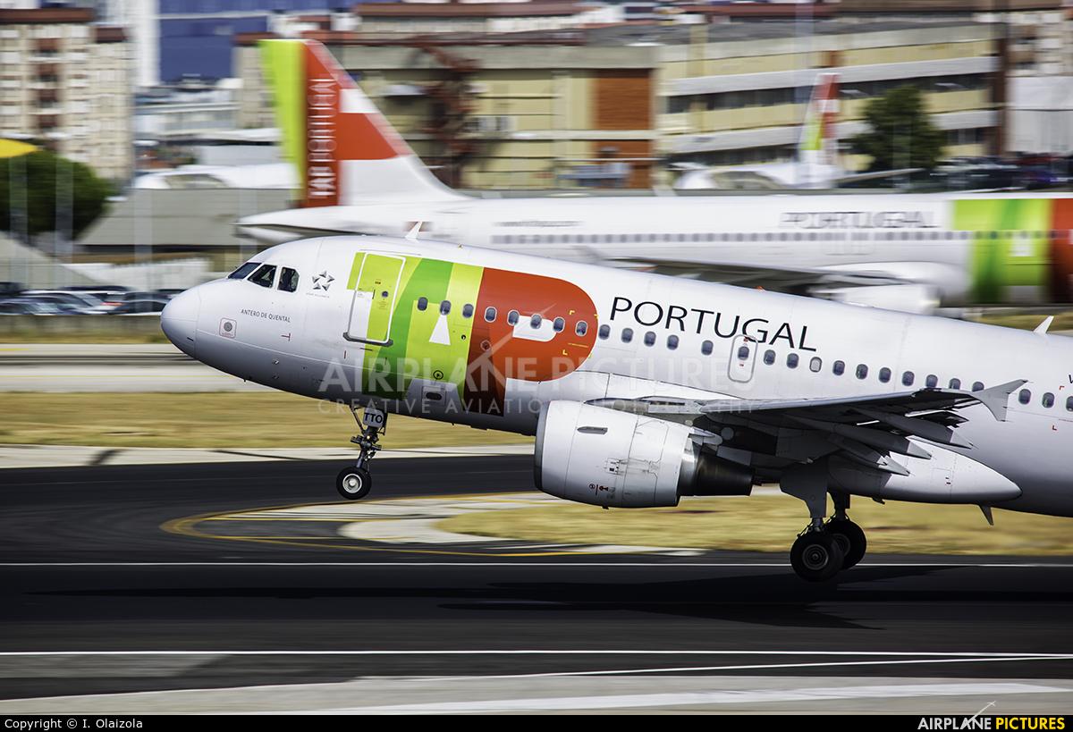 TAP Portugal CS-TTO aircraft at Lisbon