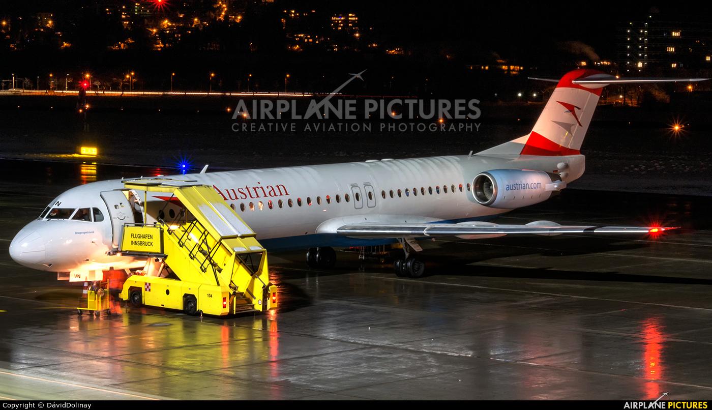 Austrian Airlines/Arrows/Tyrolean OE-LVN aircraft at Innsbruck