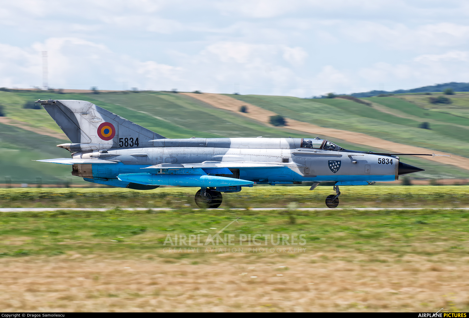 Romania - Air Force 5834 aircraft at Câmpia Turzii