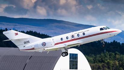0125 - Norway - Royal Norwegian Air Force Dassault Falcon 20