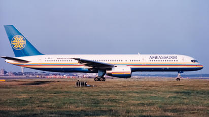 G-BRJI - Ambassador Airways Boeing 757-200