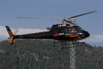 LN-OMD - Helitrans Eurocopter AS350 Ecureuil / Squirrel