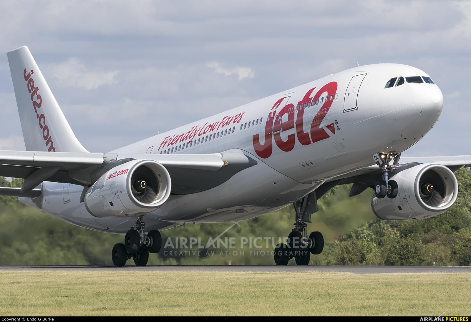 Jet2 G-VYGL aircraft at Manchester