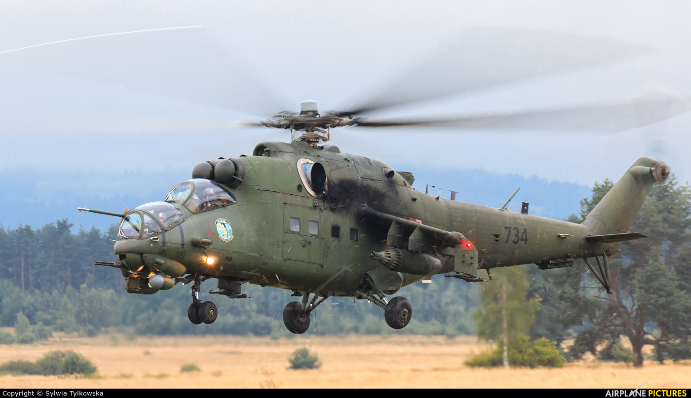 Poland - Army 734 aircraft at Nowy Targ