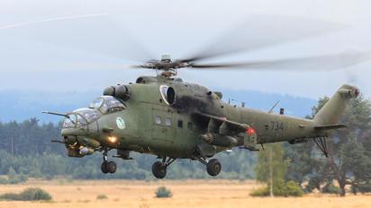 734 - Poland - Army Mil Mi-24V