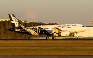ZK-OJB - Air New Zealand Airbus A320 aircraft