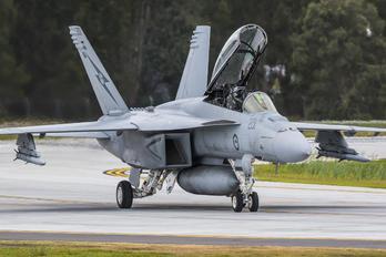A44-201 - Royal Australian Air Force Boeing F/A-18F Super Hornet