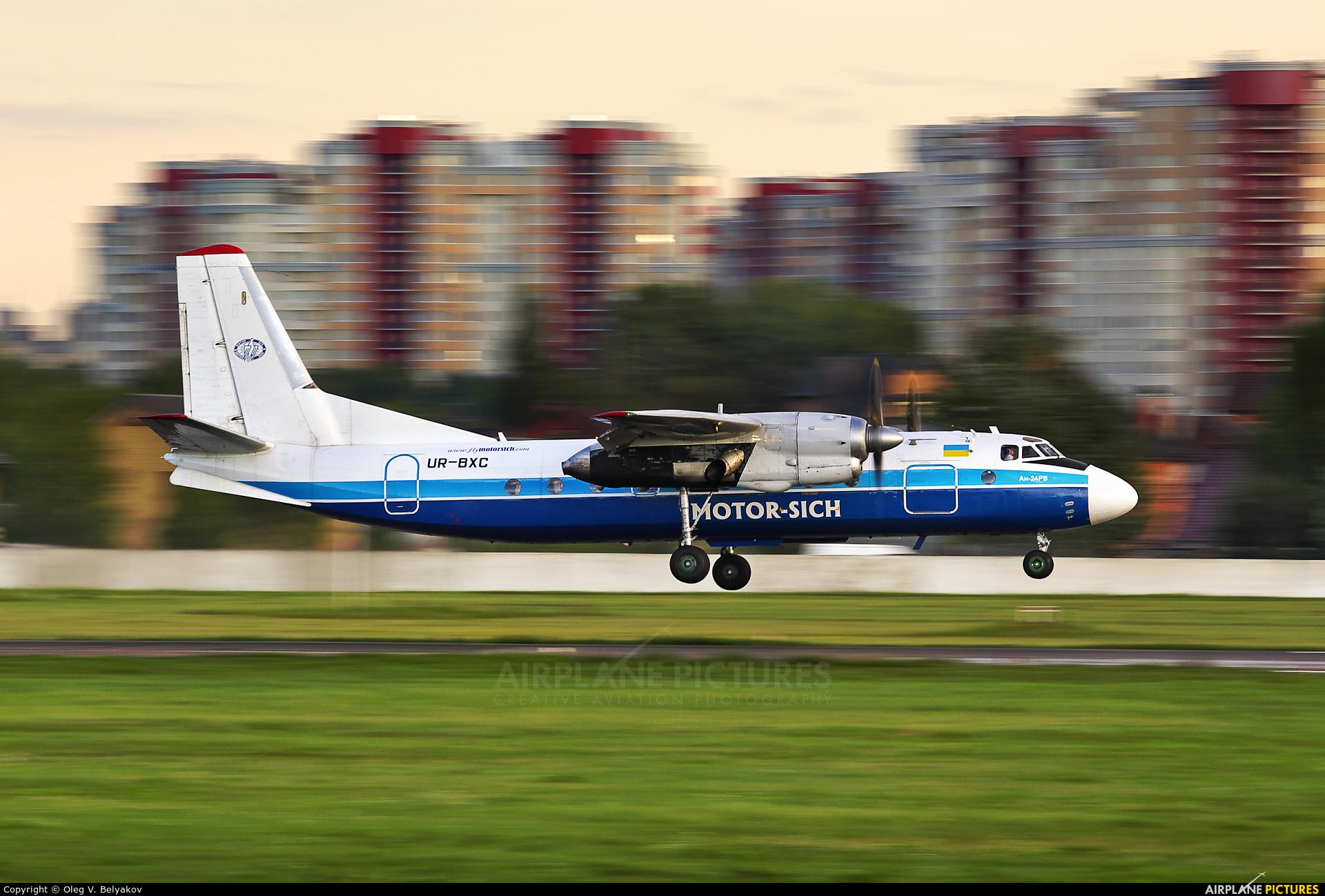 Motor Sich UR-BXC aircraft at Kiev - Zhulyany