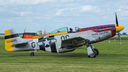 PH-PSI - Private North American P-51D Mustang