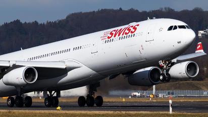 HB-JMF - Swiss Airbus A340-300