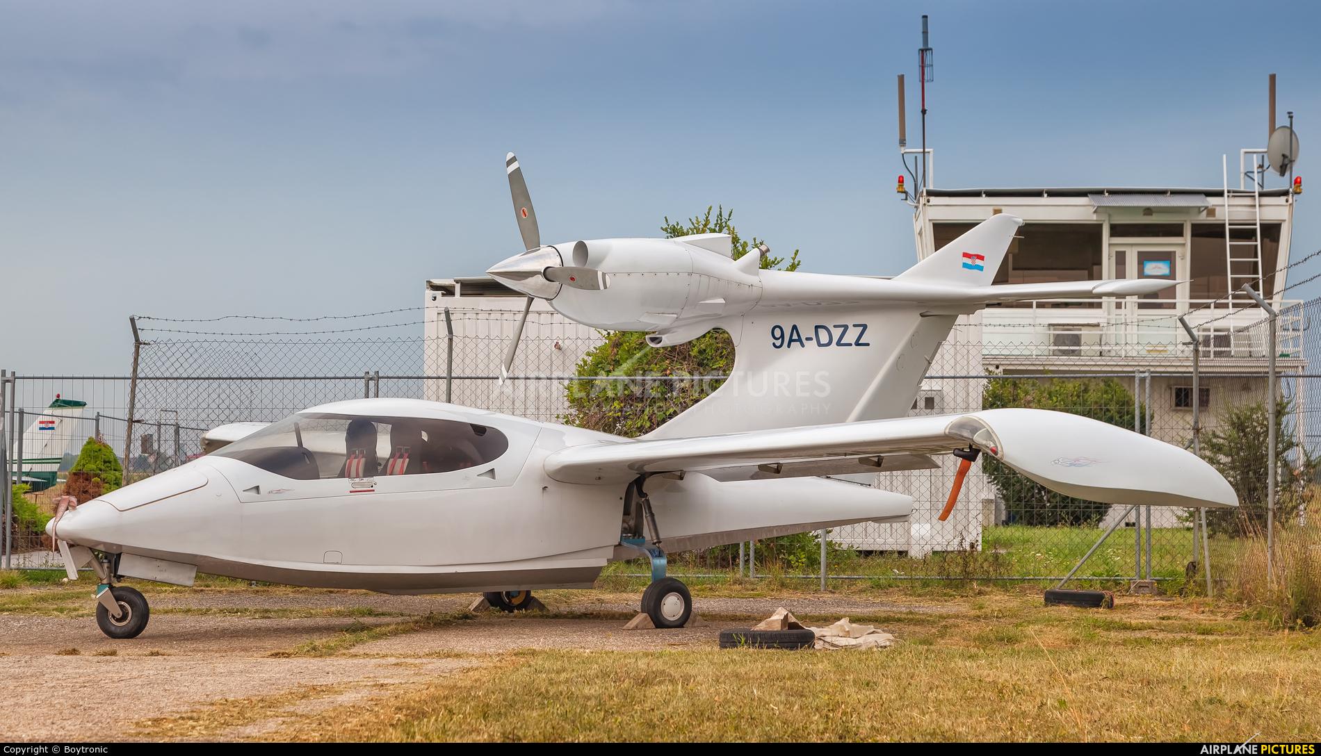 Private 9A-DZZ aircraft at Lučko