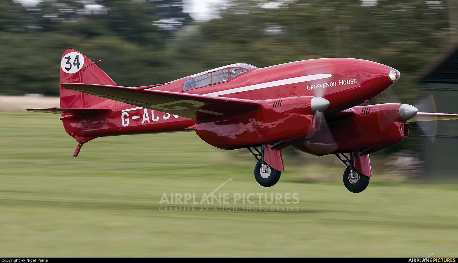 The Shuttleworth Collection G-ACSS aircraft at Old Warden
