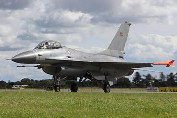 E-600 - Denmark - Air Force General Dynamics F-16A Fighting Falcon