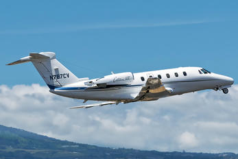 N787CV - Private Cessna 650 Citation VII
