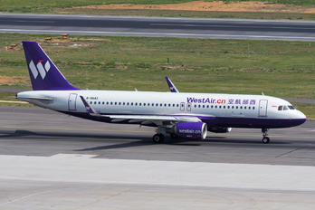 B-8643 - West Air Airbus A320