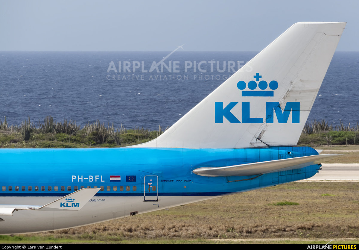 KLM PH-BFL aircraft at Hato / Curaçao Intl