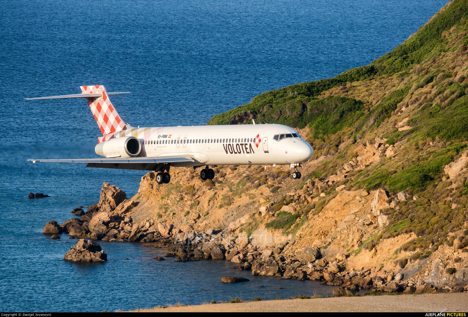 Volotea Airlines EI-FBM aircraft at Skiathos