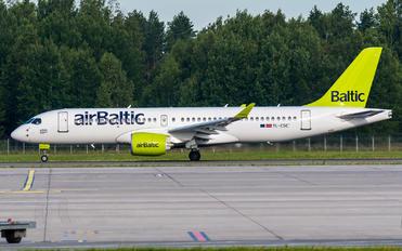 YL-CSC - Air Baltic Bombardier CS300