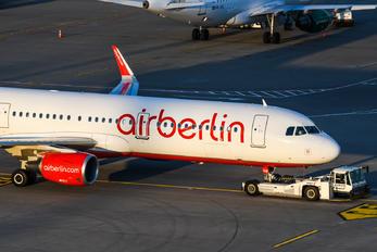 HB-JOW - Air Berlin - Belair Airbus A321
