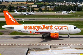 G-EZEW - easyJet Airbus A319