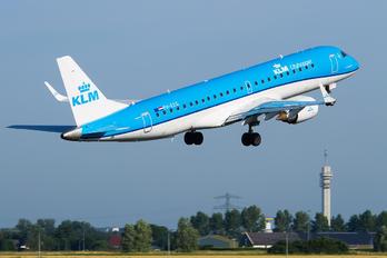 PH-EZG - KLM Cityhopper Embraer ERJ-190 (190-100)