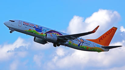 TC-CPN - Pegasus Boeing 737-800