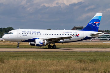 OY-RCI - Atlantic Airways Airbus A319