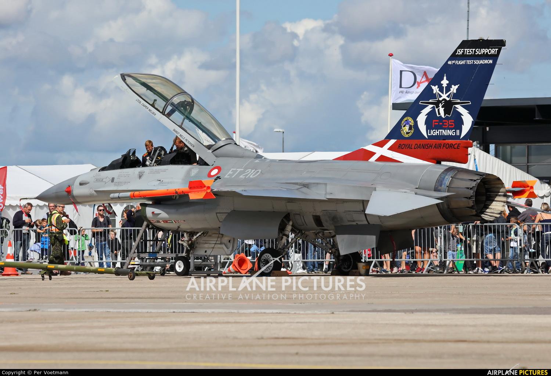Denmark - Air Force ET-210 aircraft at
