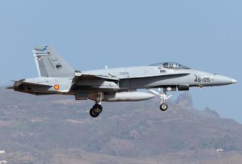 C.15-77 - Spain - Air Force McDonnell Douglas EF-18A Hornet