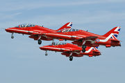"XX219 - Royal Air Force ""Red Arrows"" British Aerospace Hawk T.1/ 1A aircraft"