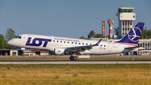 SP-LID - LOT - Polish Airlines Embraer ERJ-175 (170-200) aircraft