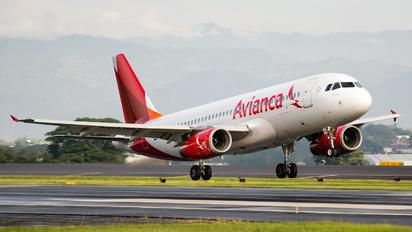 N492TA - Avianca Airbus A320