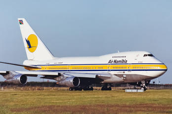 V5-SPF - Air Namibia Boeing 747SP