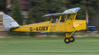 G-AOBX - Private de Havilland DH. 82 Tiger Moth