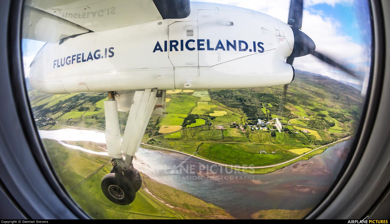 Flugfelag Islands - Air Iceland TF-FXG aircraft at In Flight - Iceland