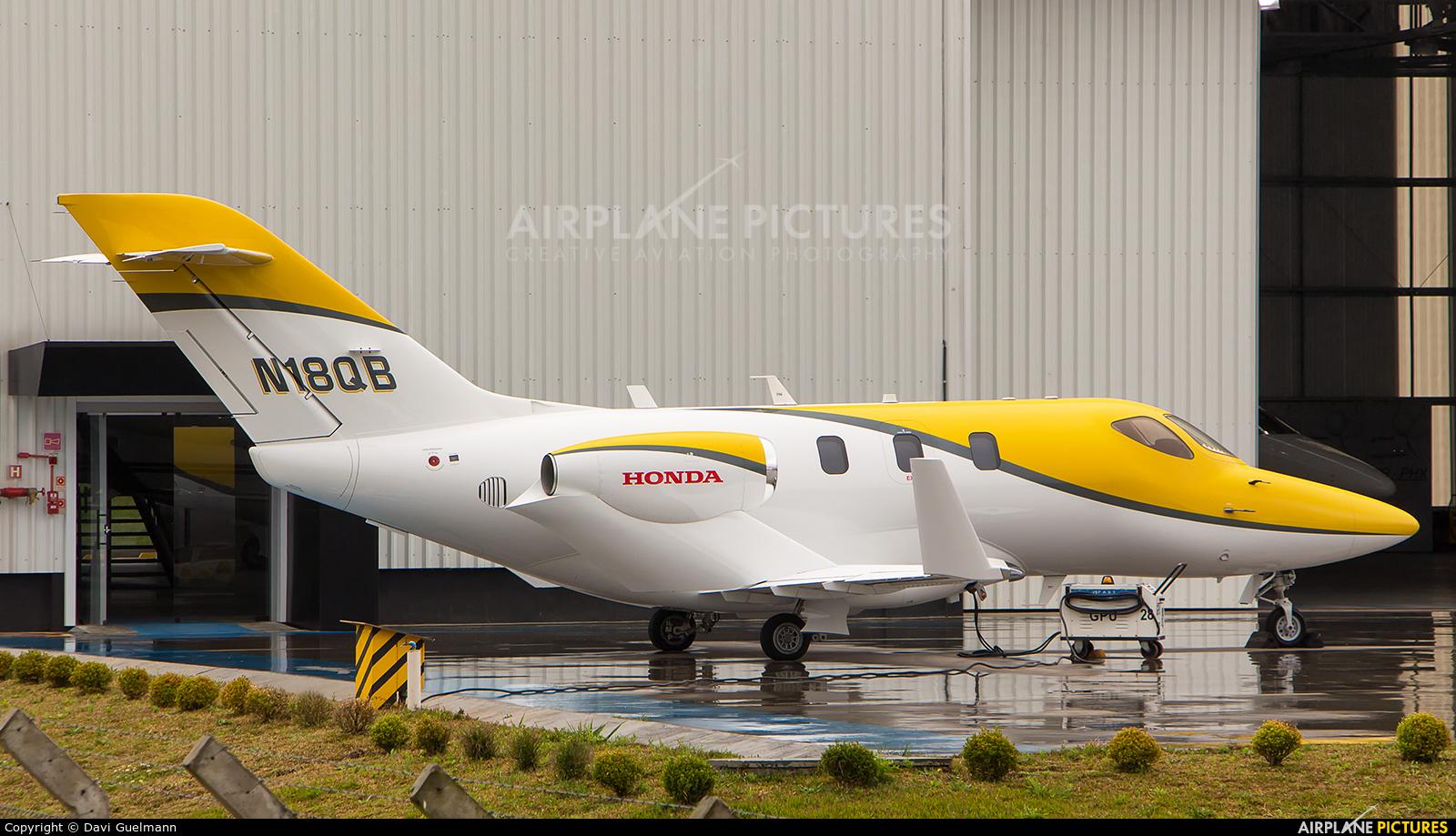 Honda Aerospace N18QB aircraft at Curitiba -  Afonso Pena