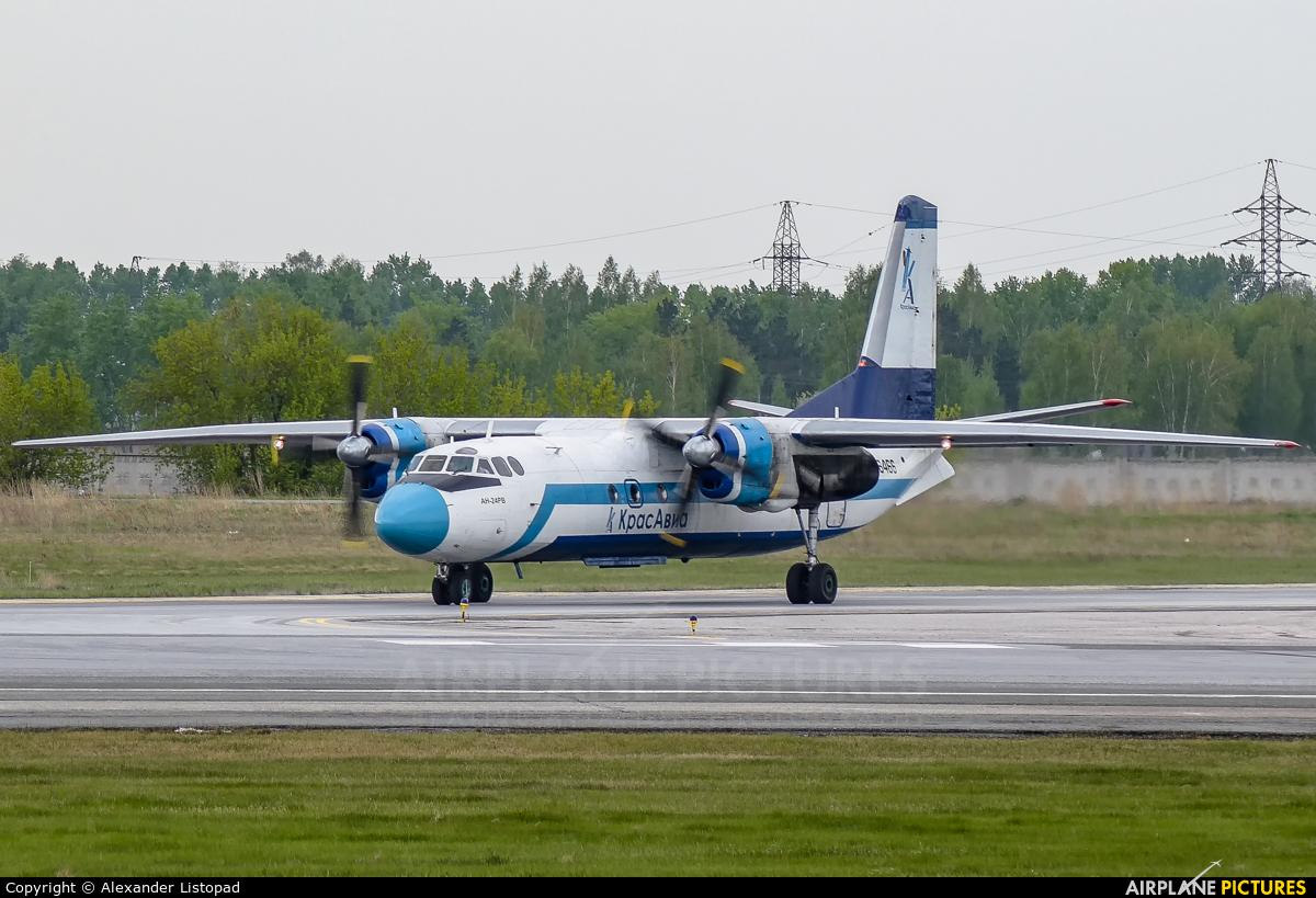 KrasAvia RA-46466 aircraft at Novosibirsk