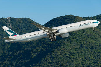 B-KQT - Cathay Pacific Boeing 777-300ER