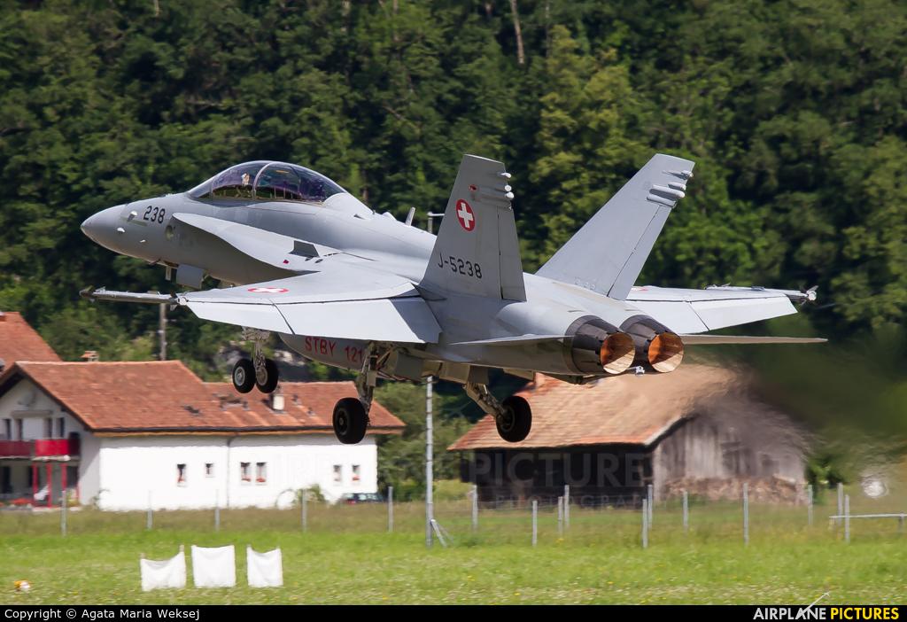 Switzerland - Air Force J-5238 aircraft at Meiringen