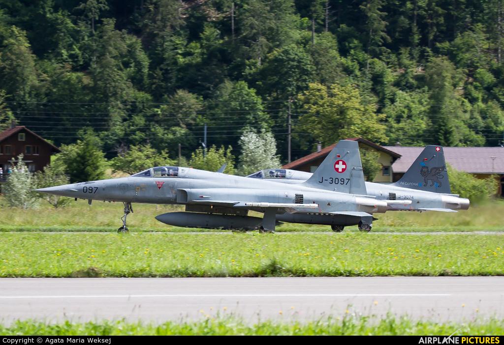 Switzerland - Air Force J-3097 aircraft at Meiringen