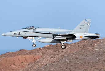 C.15-77 - Spain - Air Force McDonnell Douglas EF-18A Hornet