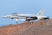 C.15-77 - Spain - Air Force McDonnell Douglas EF-18A Hornet aircraft
