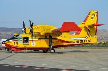 I-DPCU - Italy - Vigili del Fuoco Canadair CL-415 (all marks)
