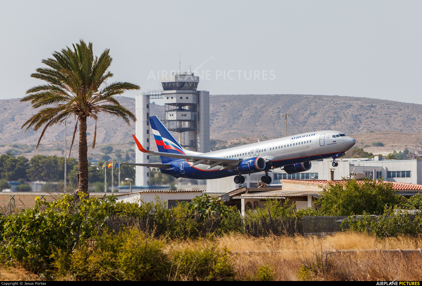 Aeroflot VP-BRR aircraft at Alicante - El Altet