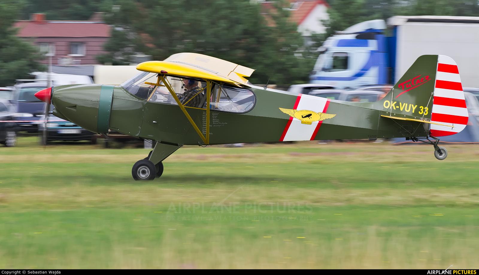 Private OK-VUY 33 aircraft at Borne Sulinowo
