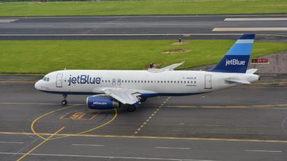 N640JB - JetBlue Airways Airbus A320