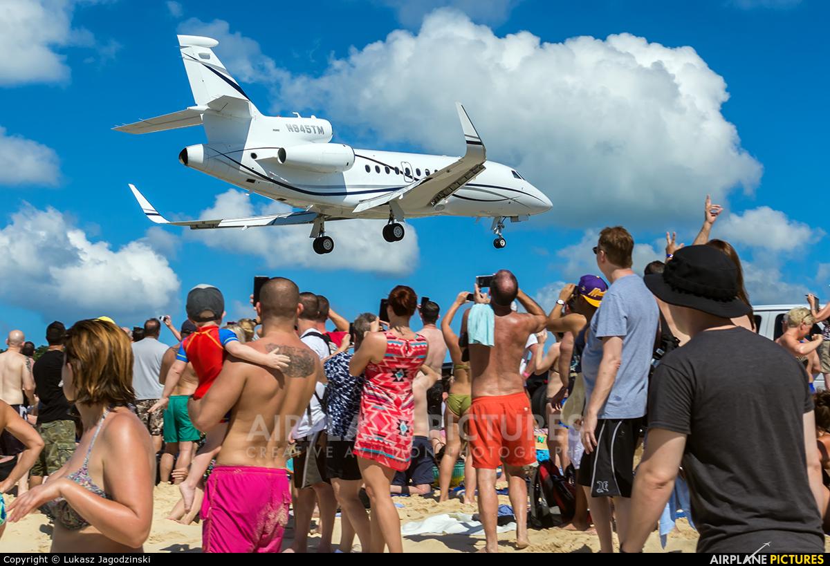 Private N945TM aircraft at Sint Maarten - Princess Juliana Intl