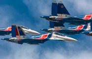 """RF-81721 - Russia - Air Force """"Russian Knights"""" Sukhoi Su-30SM aircraft"""
