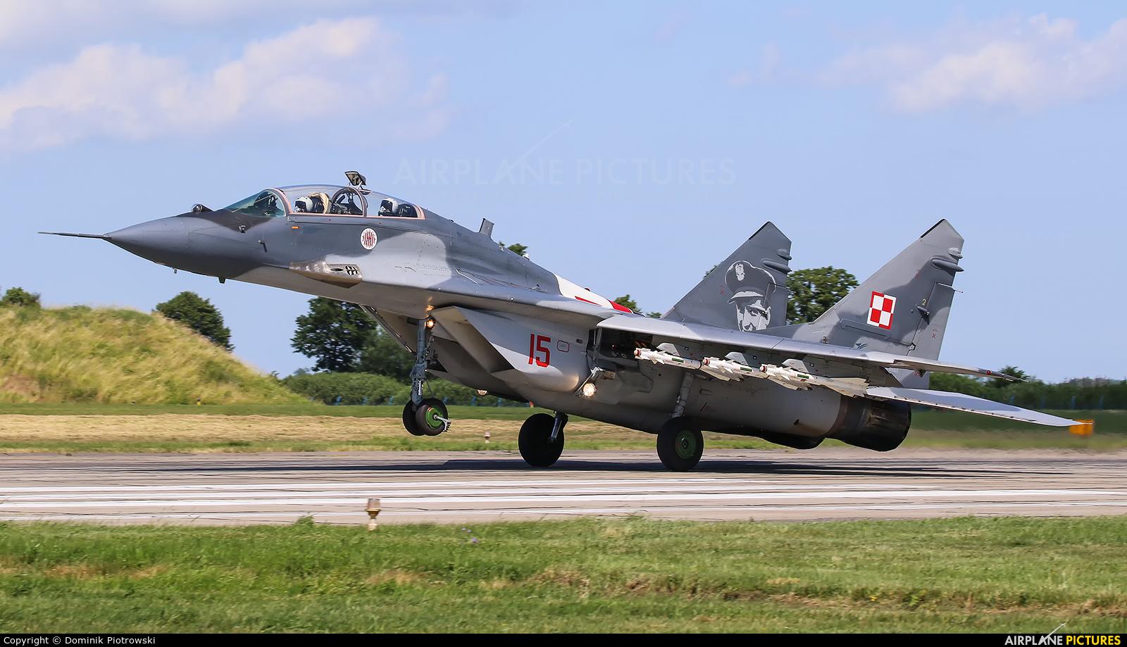 Poland - Air Force 15 aircraft at Malbork