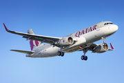 A7-LAE - Qatar Airways Airbus A320 aircraft
